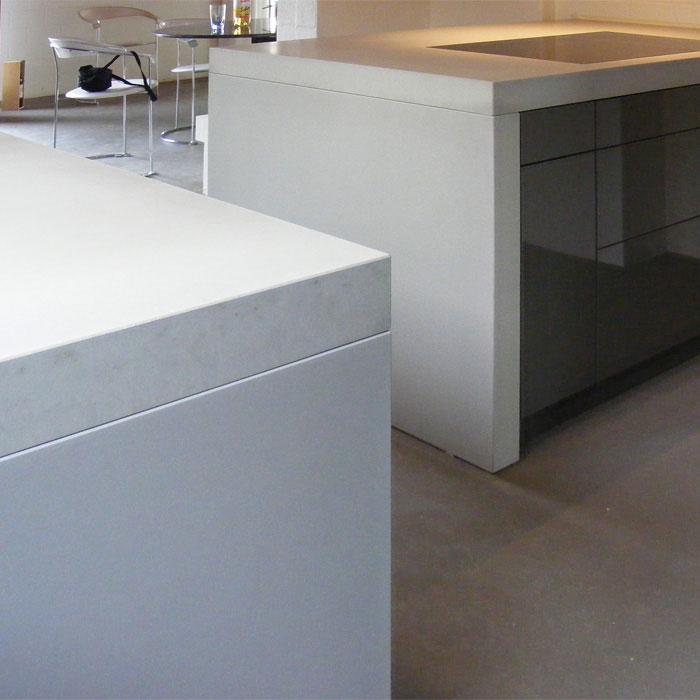 Beton Küchenarbeitsplatte von OGGI Beton, Detail
