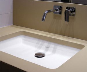 OGGI-Beton: Betonwaschtisch-Platte U