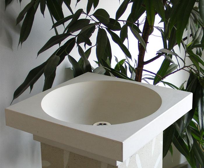OGGI-Beton: Waschtisch MALTA KANO