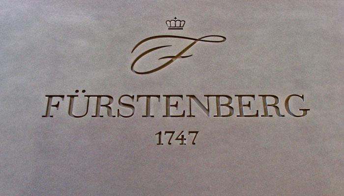 OGGI-Beton: Betonschrift Fürstenberg