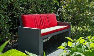 Betonbank MESSINA Gartenmöbel von OGGI Beton