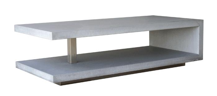 OGGI-Beton: Wohnen mit Betonmöbeln – Couchtisch