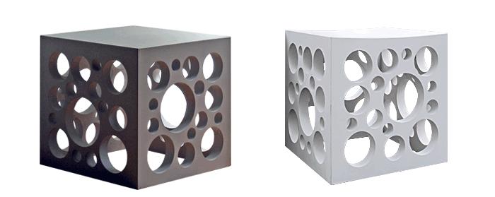 OGGI-Beton: Brandschutzmöbel, Beton-Sitzwürfel